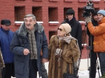 Открытие памятника Георгию Жженову